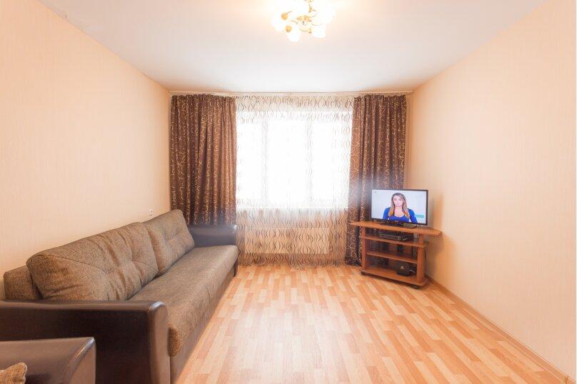 1-комн. квартира, 48 кв.м. на 2 человека, Волжская набережная, 25, Нижний Новгород - Фотография 1