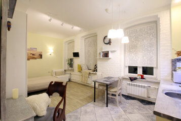 1-комн. квартира, 37 кв.м. на 3 человека, улица Всеволода Вишневского, Санкт-Петербург - Фотография 1