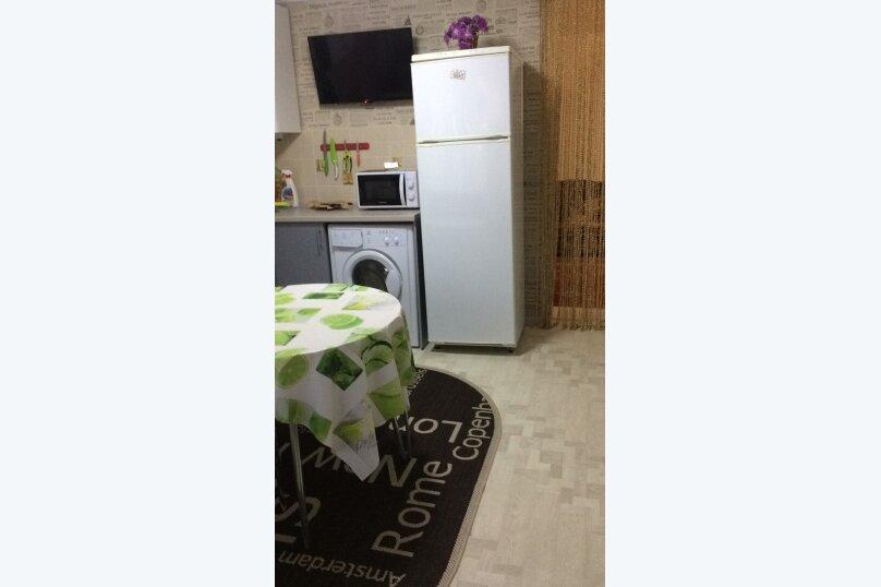 1-комн. квартира на 4 человека, Севастопольская улица, 13Б, Новофёдоровка, Саки - Фотография 3