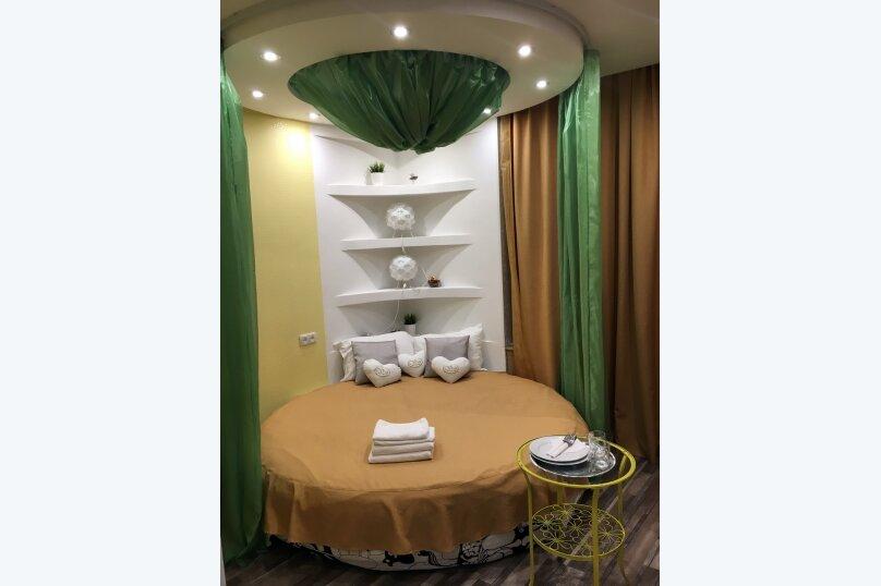 Двухместный номер COLIBRI #5 категории стандарт с круглой двухспальной кроватью и собственной ванной комнатой, Красногорский бульвар, 24, Красногорск - Фотография 9