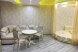 Улучшенный номер MANGO #3 студио с круглой двуспальной кроватью, угловым диваном и собственной ванной комнатой:  Номер, Люкс, 4-местный (2 основных + 2 доп), 1-комнатный - Фотография 49