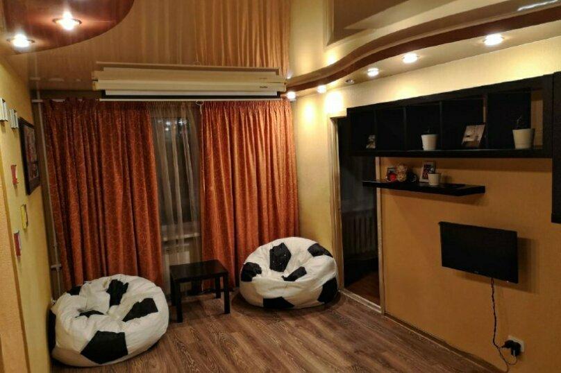 2-комн. квартира, 60 кв.м. на 4 человека, улица Шотмана, 3, Петрозаводск - Фотография 5