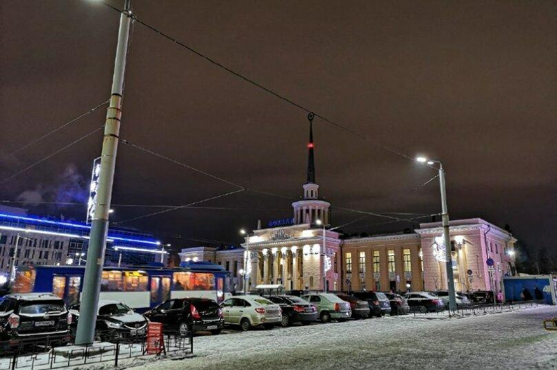 2-комн. квартира, 60 кв.м. на 4 человека, улица Шотмана, 3, Петрозаводск - Фотография 6