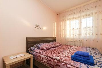 2-комн. квартира, 55 кв.м. на 5 человек, Горский, Новосибирск - Фотография 1