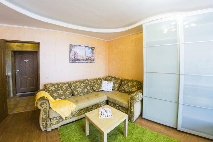 1-комн. квартира, 40 кв.м. на 3 человека, улица Маяковского, 20, Омск - Фотография 6