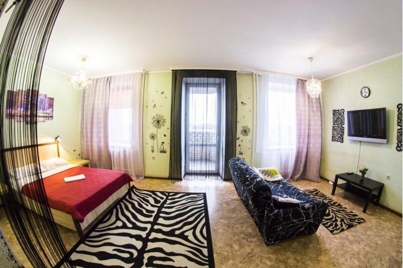 1-комн. квартира, 40 кв.м. на 3 человека, Жукова, 144, Омск - Фотография 14