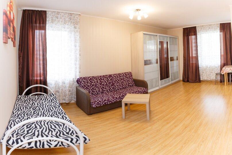 2-комн. квартира, 46 кв.м. на 5 человек, улица Варламова, 35, Петрозаводск - Фотография 3