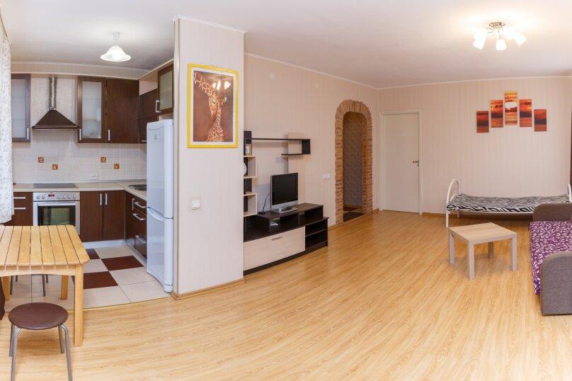 2-комн. квартира, 46 кв.м. на 5 человек, улица Варламова, 35, Петрозаводск - Фотография 9