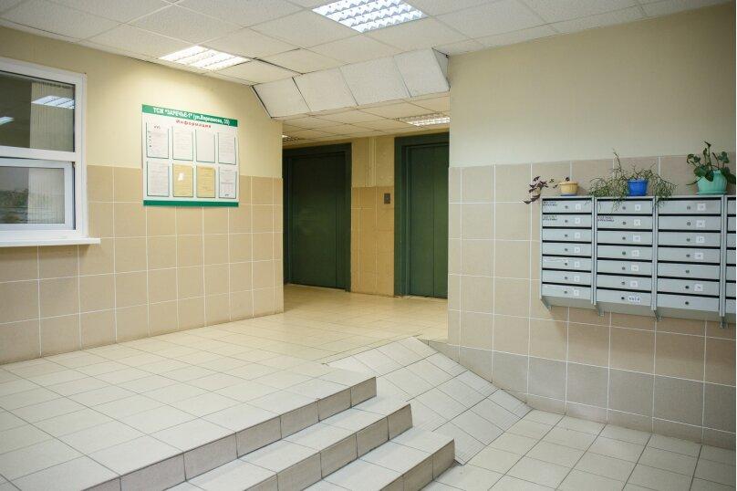 2-комн. квартира, 46 кв.м. на 5 человек, улица Варламова, 35, Петрозаводск - Фотография 15