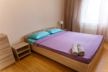 2-комн. квартира, 46 кв.м. на 5 человек, улица Варламова, 35, Петрозаводск - Фотография 1
