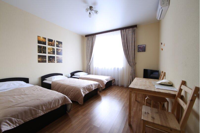 Стандартный трехместный номер, улица Передерия, 68, Краснодар - Фотография 1