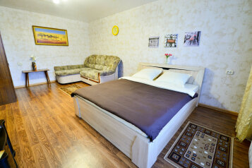 1-комн. квартира, 35 кв.м. на 4 человека, улица Орджоникидзе, 12А, Хабаровск - Фотография 2