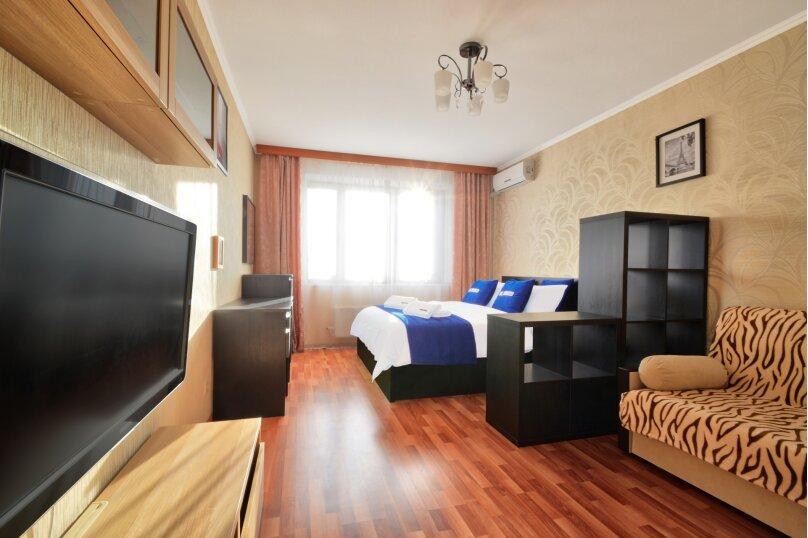 1-комн. квартира, 38 кв.м. на 4 человека, Окская улица, 3к1, Москва - Фотография 2