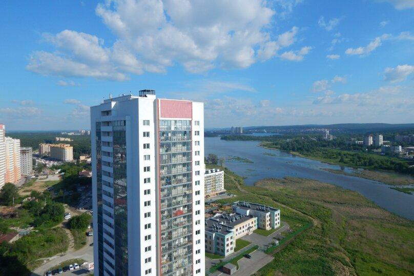 1-комн. квартира, 26 кв.м. на 4 человека, Рощинская улица, 21, Екатеринбург - Фотография 1