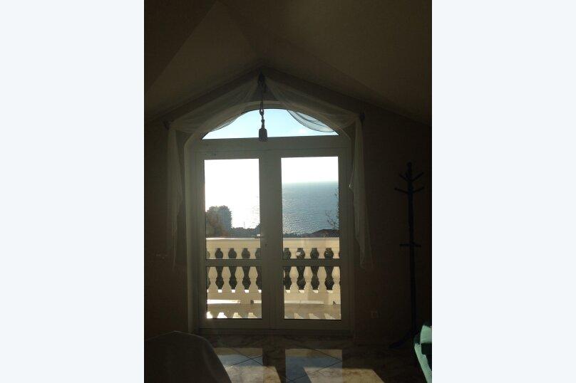 Верхний этаж дома с панорамным видом на море и отдельным входом, 133 кв.м. на 6 человек, 2 спальни, Севастопольское шоссе, 54 Е, Гаспра - Фотография 27