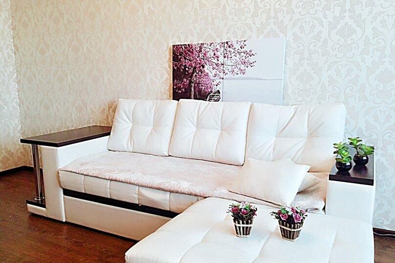 2-комн. квартира, 80 кв.м. на 5 человек, улица Мордасовой, 11А, Воронеж - Фотография 1
