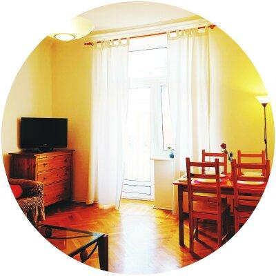 2-комн. квартира, 53 кв.м. на 5 человек