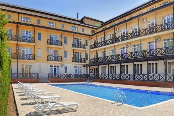 1-комн. квартира, 17 кв.м. на 3 человека, Сигнальная улица, 30Ас8, Черноморское - Фотография 1