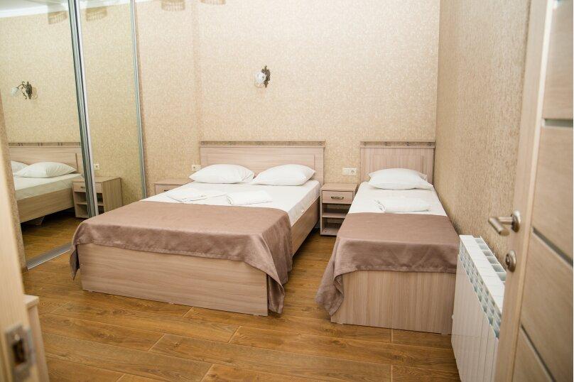 2-комн. квартира, 53 кв.м. на 5 человек, Красноармейская улица, 72, Витязево - Фотография 9