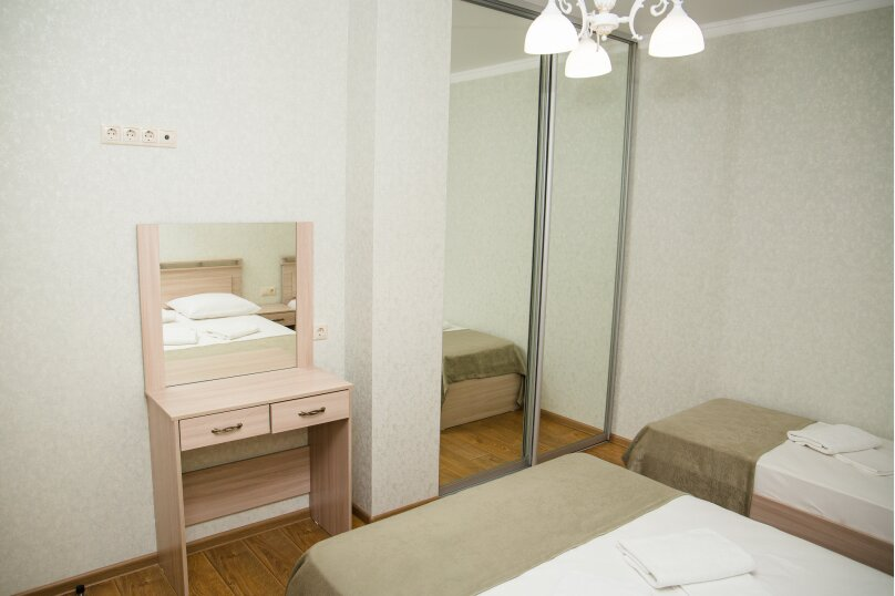 2-комн. квартира, 53 кв.м. на 5 человек, Красноармейская улица, 72, Витязево - Фотография 12