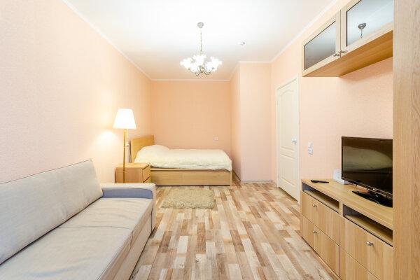 1-комн. квартира, 38 кв.м. на 4 человека, Зиповская улица, 46, Краснодар - Фотография 1