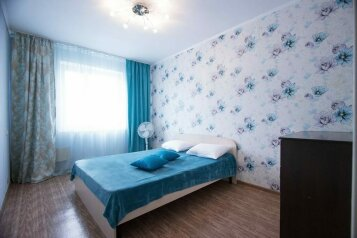 2-комн. квартира, 45 кв.м. на 4 человека, улица 78-й Добровольческой Бригады, 19, Красноярск - Фотография 1