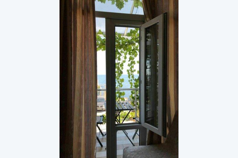 2х местный с балкончиком на втором этаже, Кооператив Волна, Эллинг , Алушта - Фотография 4