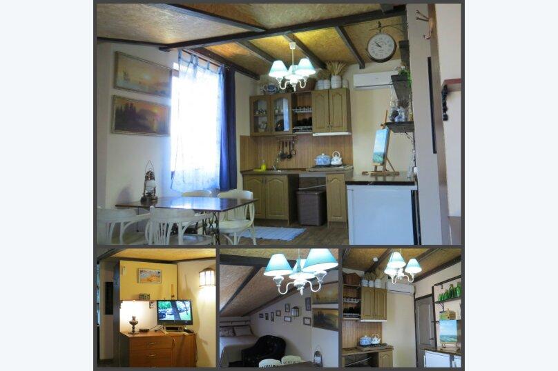 Номер-студио (с кухней и видом на море) 2.1., Садовая улица, 3, Заозерное - Фотография 1