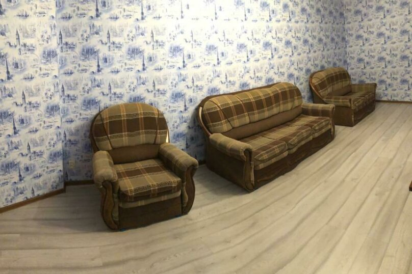 3-комн. квартира, 62 кв.м. на 7 человек, Олимпийская, 79, Кировск - Фотография 18