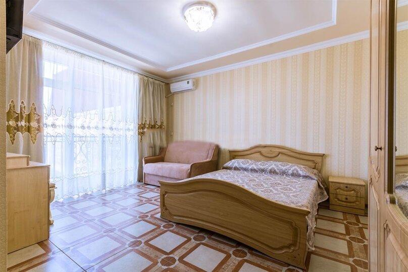 Однокомнатный номер с балконом, 3-й этаж, улица Гагарина, 48Д, Судак - Фотография 1