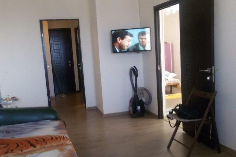 3-комн. квартира, 51 кв.м. на 4 человека, улица Братьев Кошевых, 13, Приморско-Ахтарск - Фотография 4