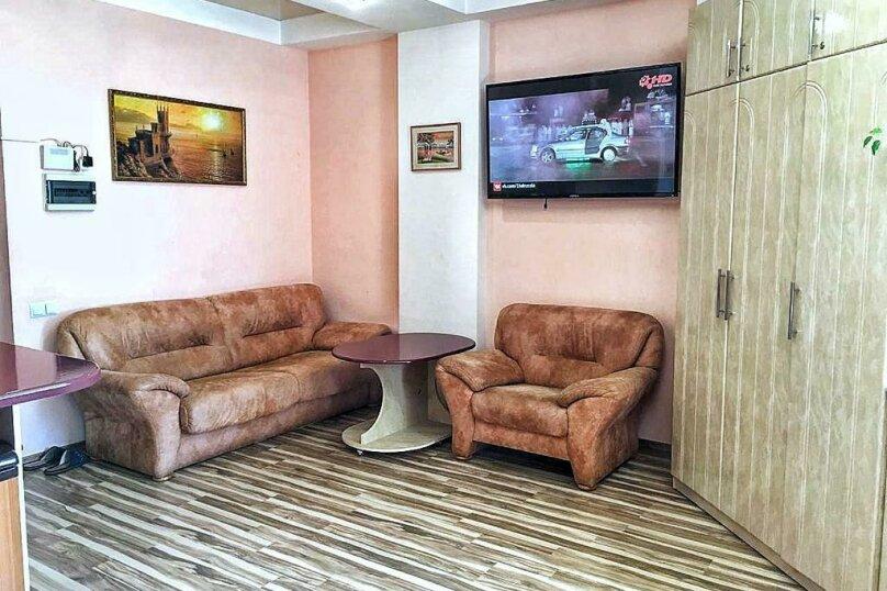 1-комн. квартира, 49 кв.м. на 4 человека, улица Игнатенко, 5, Ялта - Фотография 12