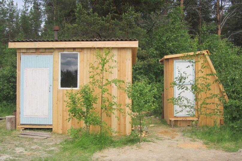 Лесной Домик на берегу оз. Лексозеро, 35 кв.м. на 4 человека, 1 спальня, Гафостров, 5, Муезерский - Фотография 13