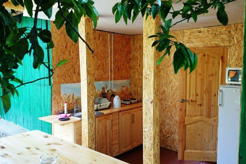 Домик под ключ смежными комнатами, 36 кв.м. на 5 человек, 2 спальни, пос. Псырцха, ул. Шаумяна, 15, Новый Афон - Фотография 3