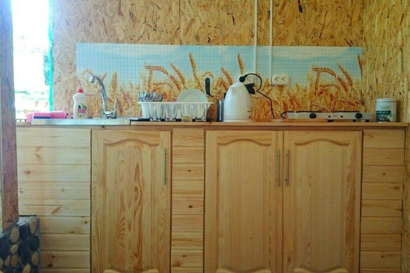 Домик под ключ смежными комнатами, 36 кв.м. на 5 человек, 2 спальни, пос. Псырцха, ул. Шаумяна, 15, Новый Афон - Фотография 4