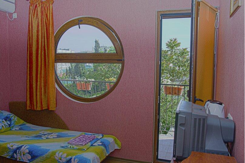 2-х местный люкс (две односпальные кровати) 3-й этаж., улица 14 апреля, 12, Судак - Фотография 1