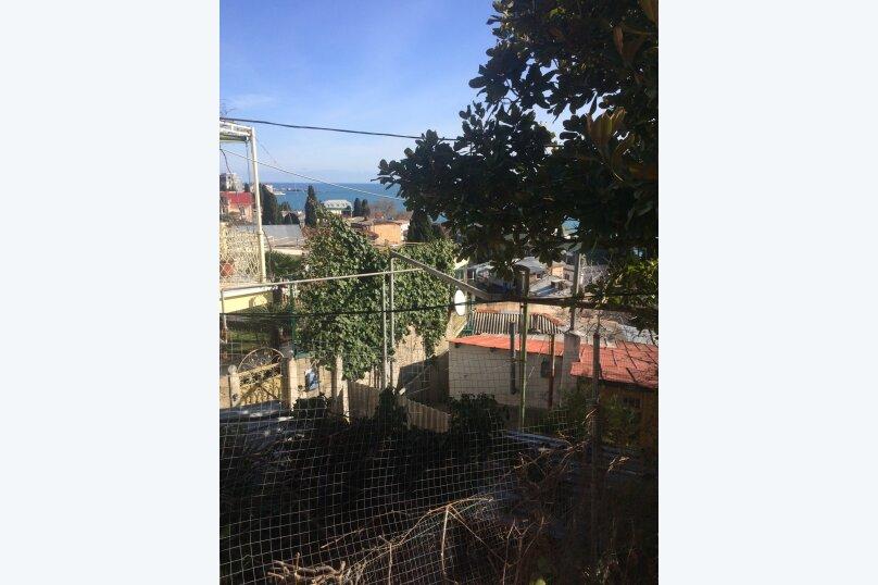 Гостевой дом  с двориком  студия №2 пляж чистый, 22 кв.м. на 3 человека, 1 спальня, Поликуровская улица, 5, Ялта - Фотография 6
