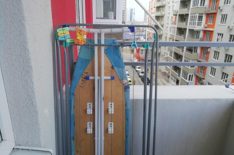 2-комн. квартира, 40 кв.м. на 3 человека, улица Лермонтова, 116к2, Анапа - Фотография 9