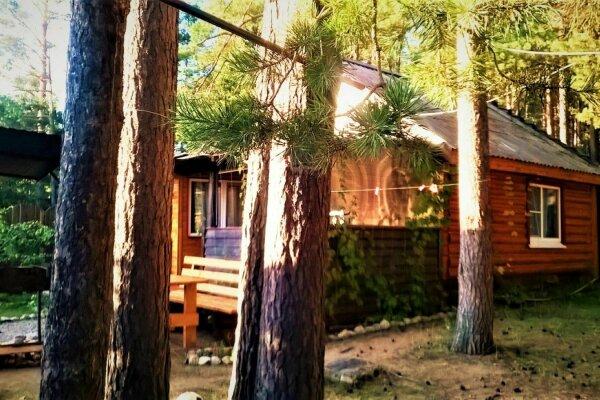 Частный дом в турбазе до 8 человек, 56 кв.м. на 8 человек, 2 спальни, Лесной проезд, 10, Осташков - Фотография 1