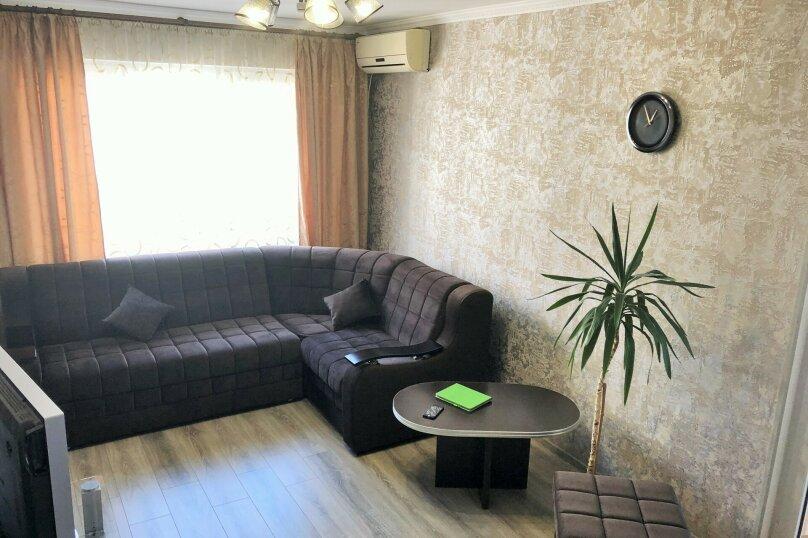2-комн. квартира, 56 кв.м. на 5 человек, Фрунзенское шоссе, 16, Партенит - Фотография 5