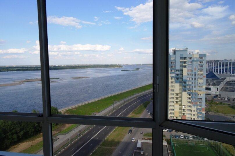 1-комн. квартира, 40 кв.м. на 3 человека, Волжская набережная, 23, Нижний Новгород - Фотография 31