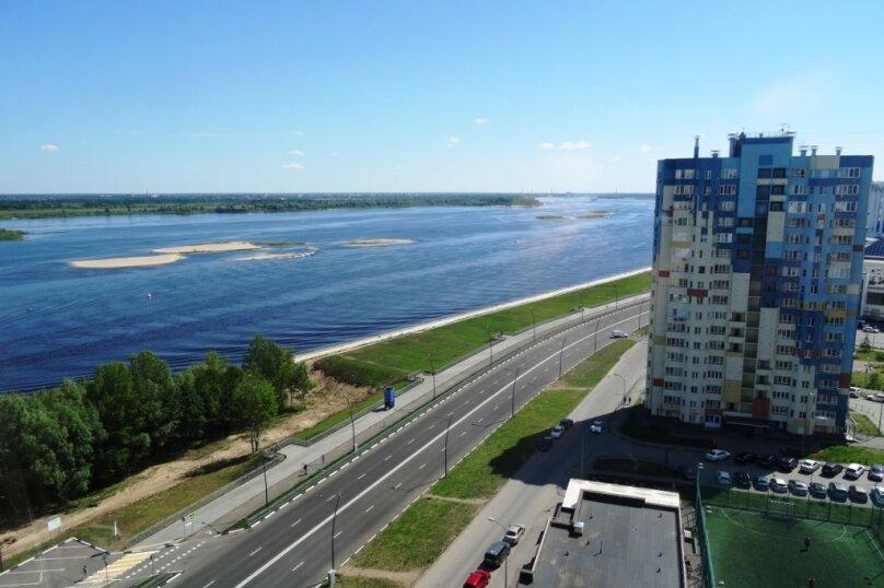 1-комн. квартира, 40 кв.м. на 3 человека, Волжская набережная, 23, Нижний Новгород - Фотография 32