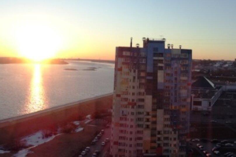 1-комн. квартира, 40 кв.м. на 3 человека, Волжская набережная, 23, Нижний Новгород - Фотография 40