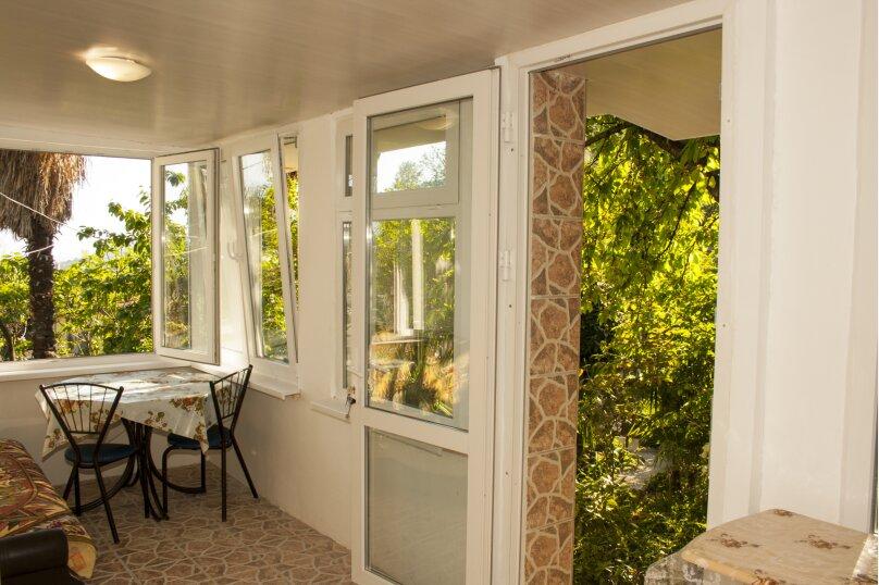 Частный дом в Крыму, Гурзуф 1-я половинка, 50 кв.м. на 4 человека, 2 спальни, Пролетарская, 19, Гурзуф - Фотография 3