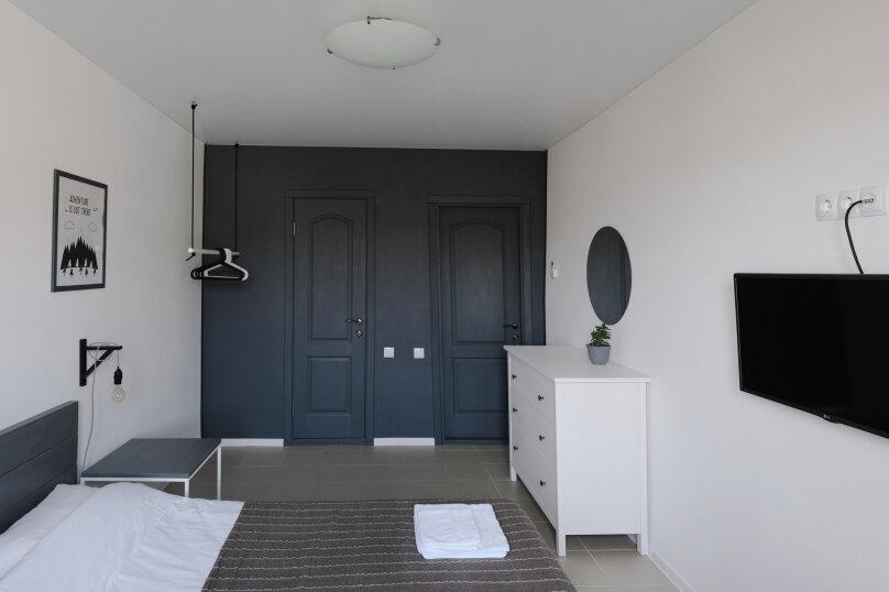 Комфорт. Однокомнатный двухместный номер с кондиционером, Пихтовый переулок, 26, Судак - Фотография 12