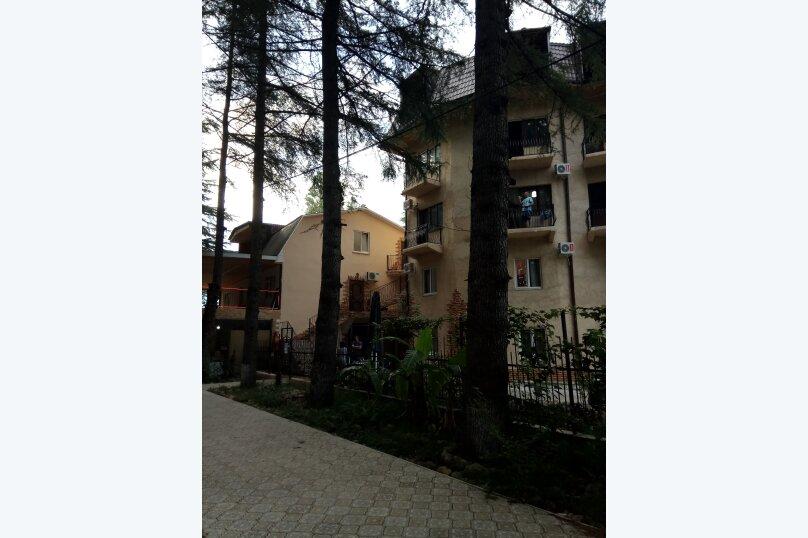 2-комн. квартира, 67 кв.м. на 4 человека, улица Гочуа, 11, Пицунда - Фотография 11