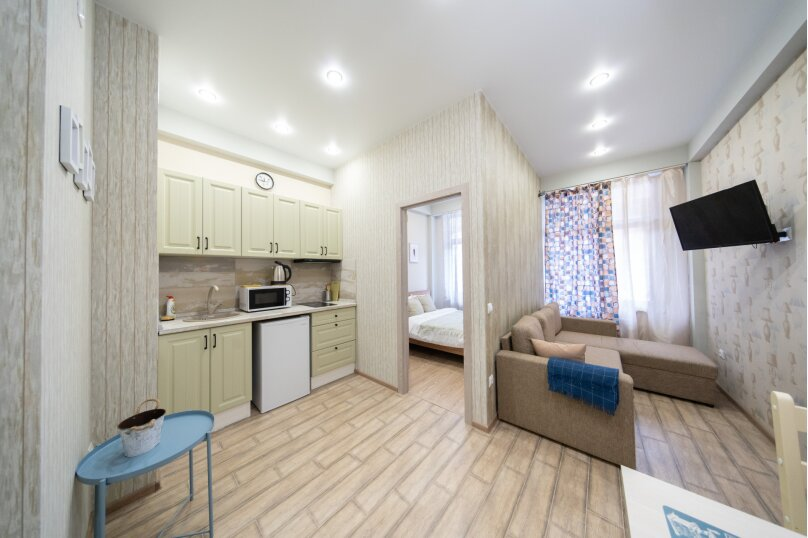 2-комн. квартира, 40 кв.м. на 4 человека, Плотинная улица, 2, Красная Поляна - Фотография 1