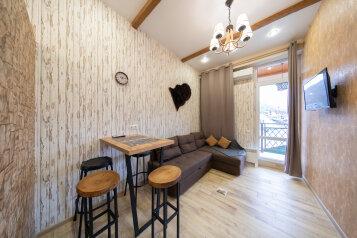 2-комн. квартира, 38 кв.м. на 4 человека, Автомобильный переулок, 58а, Эстосадок, Красная Поляна - Фотография 1