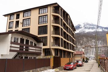 2-комн. квартира, 38 кв.м. на 4 человека, автомобильный переулок, 58а, Красная Поляна - Фотография 4