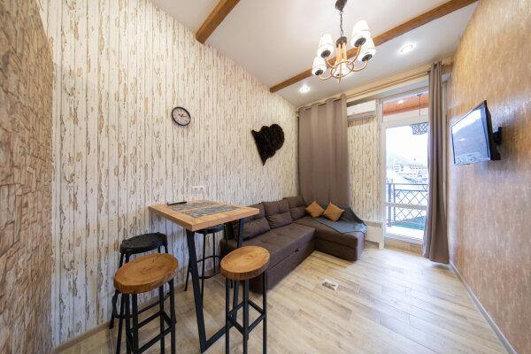 2-комн. квартира, 38 кв.м. на 4 человека, автомобильный переулок, 58а, Красная Поляна - Фотография 1